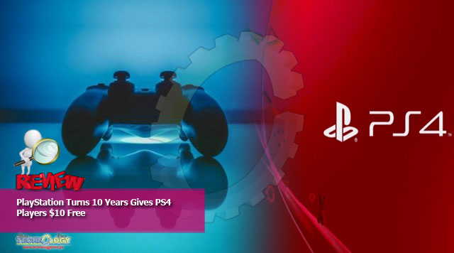 PlayStation Turns 10 Years Gives PS4 Players $10 Free