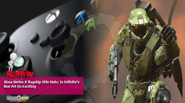 Xbox Series X flagship title Halo: Is Infinite's Box Art So Exciting