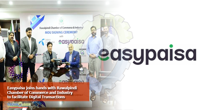 Easypaisa joins hands with Rawalpindi Chamber of Commerce and Industry to facilitate Digital Transactions