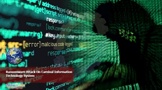 Ransomware Attack On Carnival Information Technology System