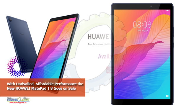 With Unrivalled, Affordable Performance the New HUAWEI MatePad T 8 Goes on Sale