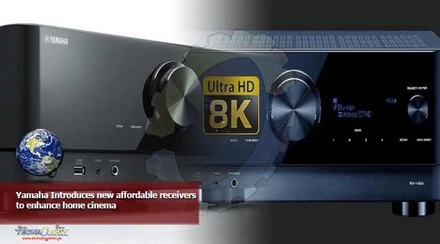 Yamaha Introduces new affordable receivers to enhance home cinema