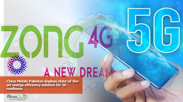 China Mobile Pakistan deploys state-of-the-art energy efficiency solution for 5G readiness