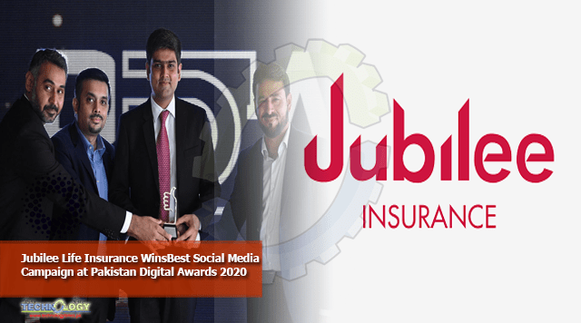 Jubilee Life Insurance WinsBest Social Media Campaign at Pakistan Digital Awards 2020