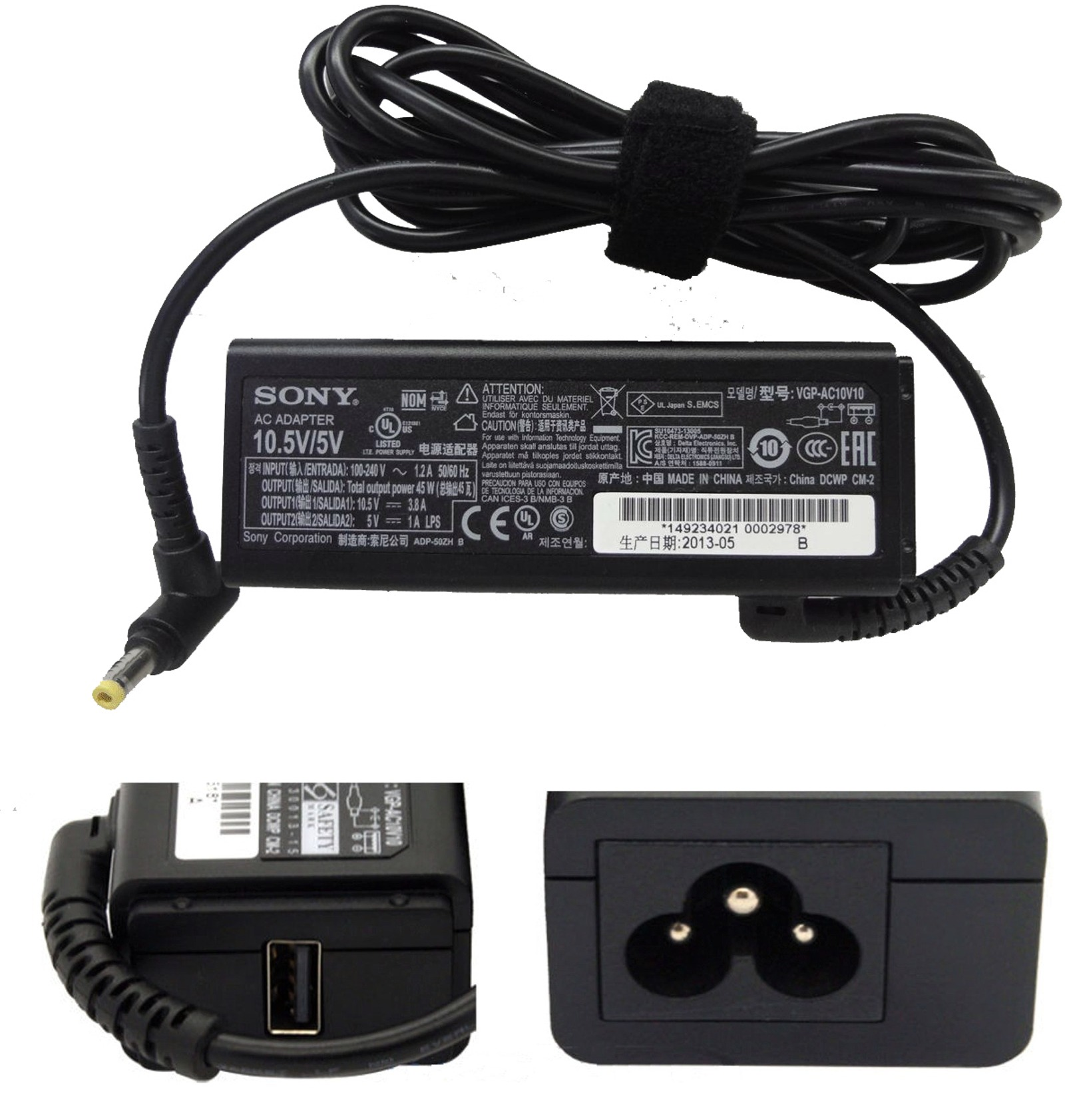 5 pin dc jack tablet netbook notebook 0 7mm 99 jeep grand cherokee laredo radio wiring diagram for sony vaio vgp ac10v8 ac10v10 10 5v 3 8a adapter