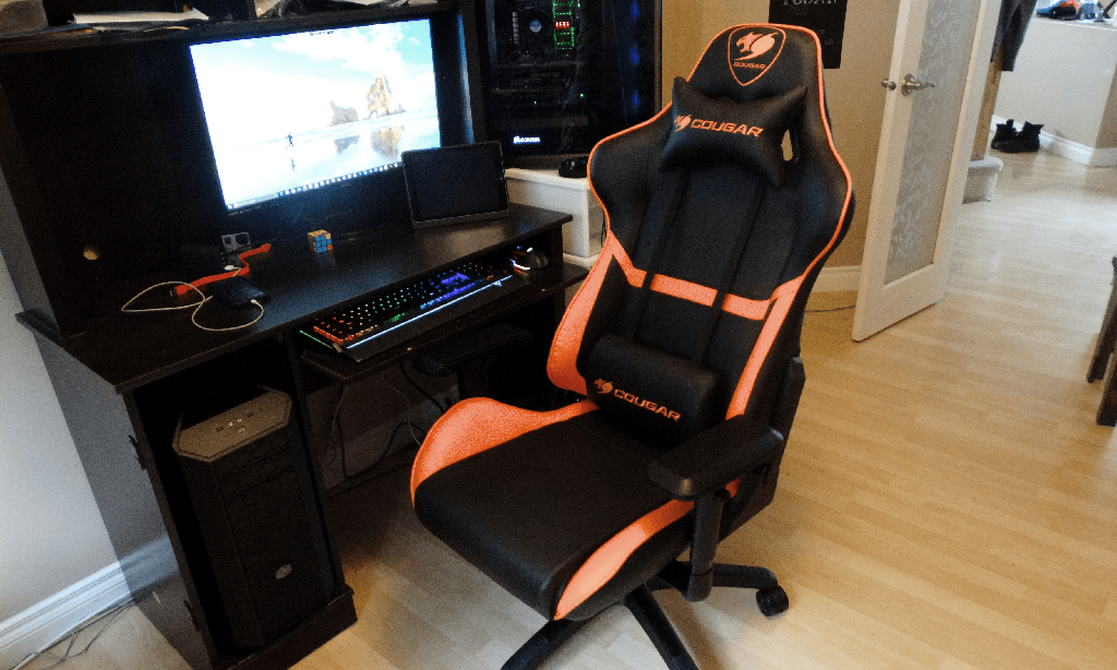 desktop gaming chair game for xbox one cougar armor review | technology x