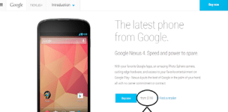 Get Nexus 4 for just 199$ from Play Store
