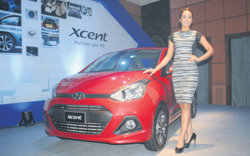 Hyundai Xcent launched in Nepal