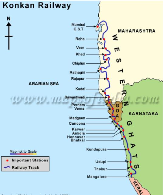konkan-railway-route-map