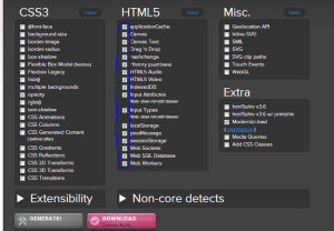 Modernizr With HTML5-CSS3 To Detect Supported Features For Different Browsers