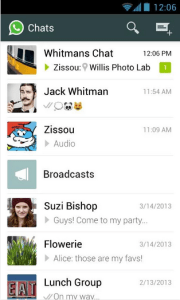 Download and Install Whatsapp for nokia phones (jar, apk, xap, sis file)