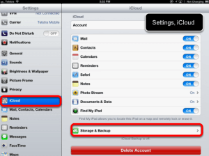How to backup iPad with/without iTunes?
