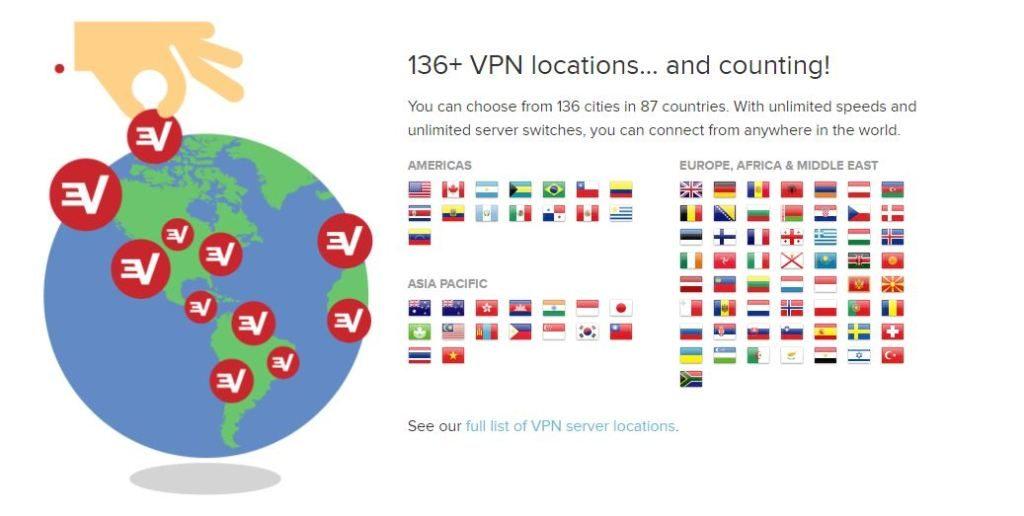 express-vpn-locations