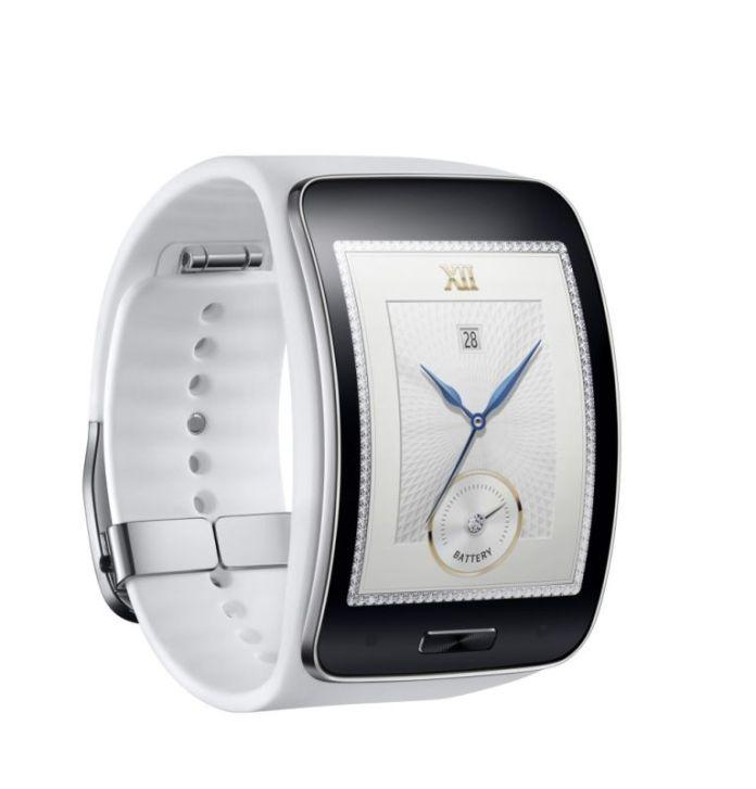 Samsung Gear S_Pure White