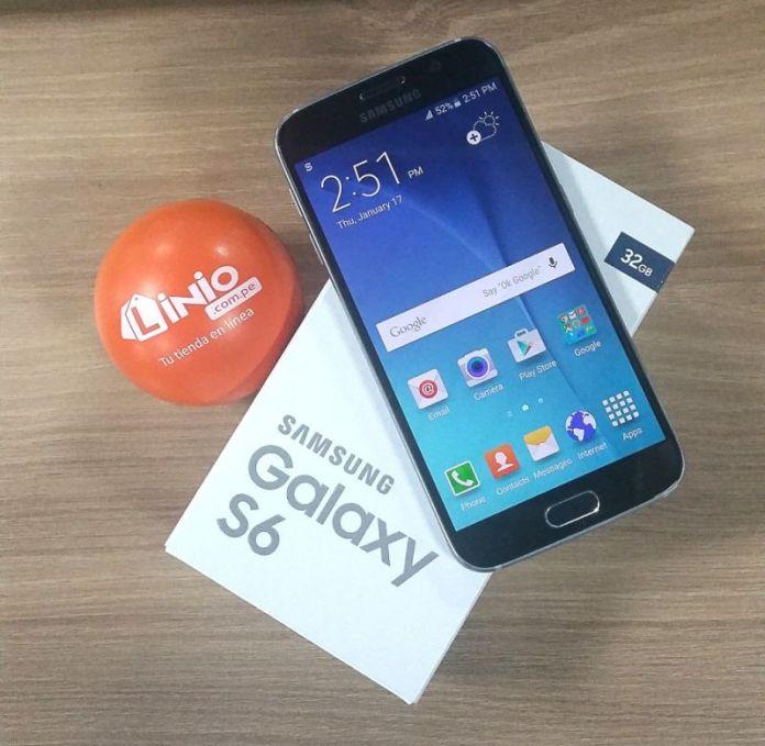 Samsung Galaxy S6 ahora en Linio.com.pe