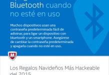Intel Security - Los Regalos de Navidad mas Hackeables Bluetooth
