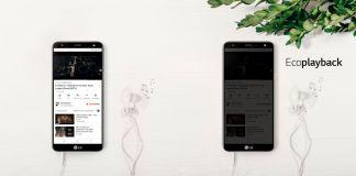 LG TRAE EL ÚNICO SMARTPHONE CON FUNCIÓN ECO PLAYBACK