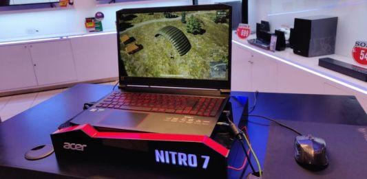 La poderosa Nitro 7 de Acer con NVIDIA® GeForce® GTX Serie 16 llega a Perú