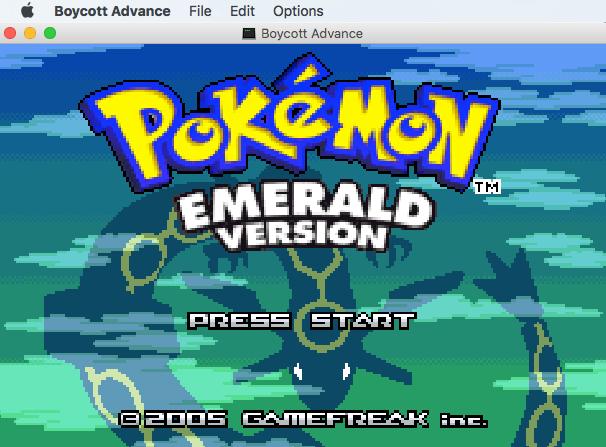 pokemon games for kigb mac