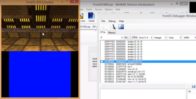 TronDS Emulator can run Homebrew files