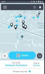 Yulu Cycle Rental App