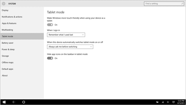 The Complete Guide to Using Windows 10 Tablet Mode