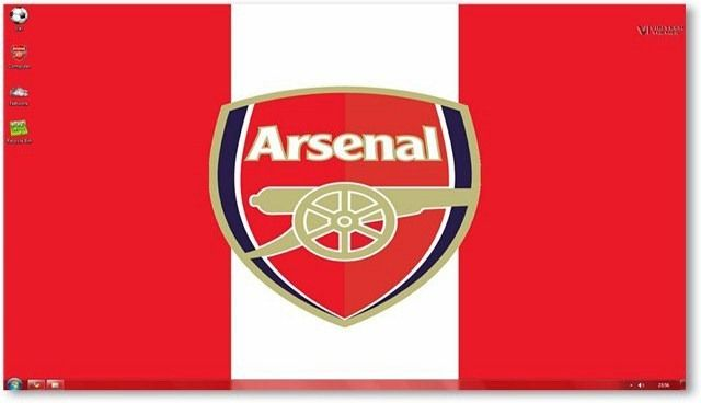 windows 7 themes arsenal fc theme for
