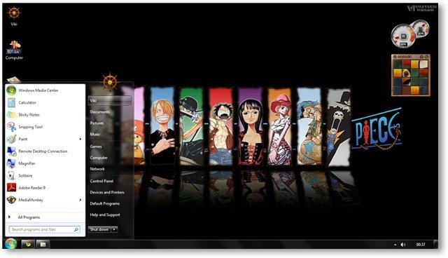 Cute Chopper One Piece Wallpaper One Piece Theme For Windows 7 And 8 Anime Themes