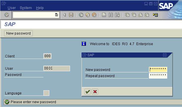 SU01-Change-Password