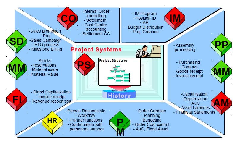 SAP PS (Project System) Tutorial -Learn SAP PS Online