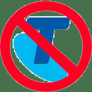 Not Telstra logo