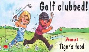 Amul Tiger Woods