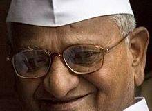 Anna Hazare live on Youtube
