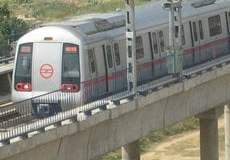 Delhi Gurgaon Metro Rail Route