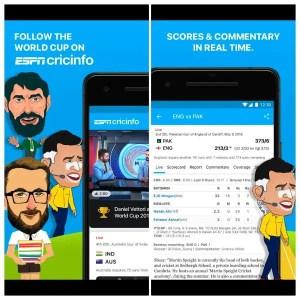 ESPN CricInfo Cricket Score