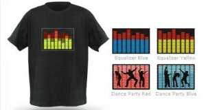 Flashing LED Tshirts buy online @ Exciting Lives