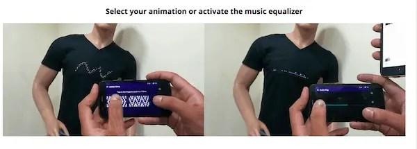 Gluwy LED tshirts