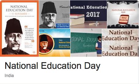 National Education Day India