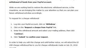 PayPal Notice 28072010
