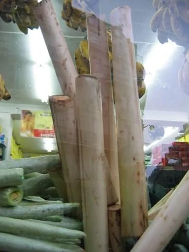 banana inner stem