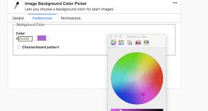 Change background color image