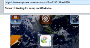 Chrome to iPhone extension