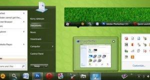 Clearscreen Green Theme Windows 7