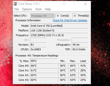 shutdown computer overheated