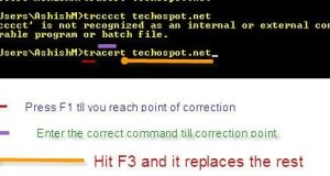 Correcting Wrong Command First
