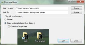 create Symlinks Windows