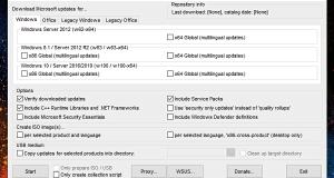 download install Windows Updates offline