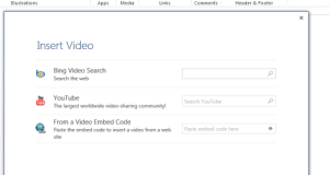 Embed Video from YouTube in Office 2013