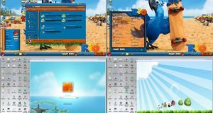 Free Download Angry Birds Skin Pack for Windows 7