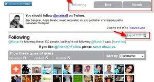 Get to know your Twitter followers, friends, and your following in detail F or F